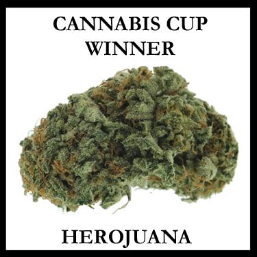 CANNABIS CUP WINNER HEROJUANA