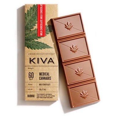 Kiva Milk Chocolate Bar