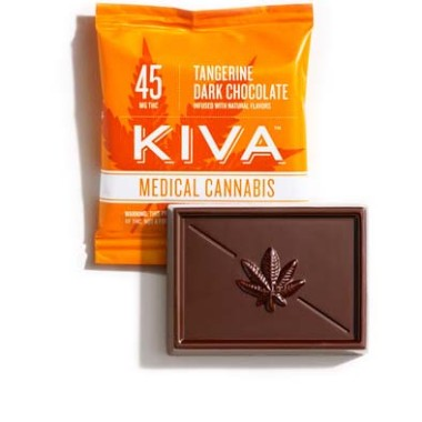 Kiva Tangerine Dark Chocolate Minis