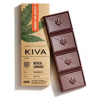 Kiva Tangerine Dark Chocolate Bar